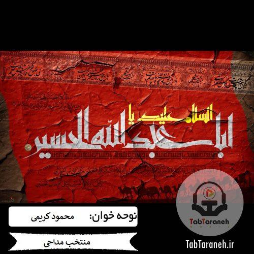 دانلود منتخب مداحی های محمود کریمی