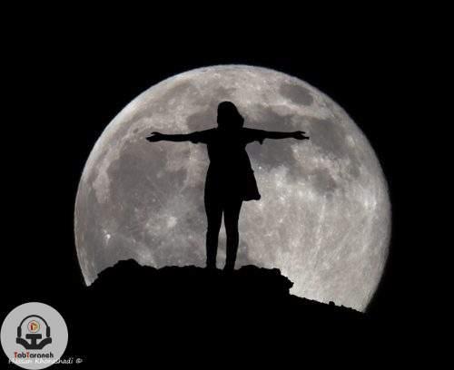 تو که ماه بلند آسمونی