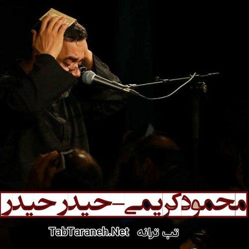 محمود کریمی - حیدر حیدر