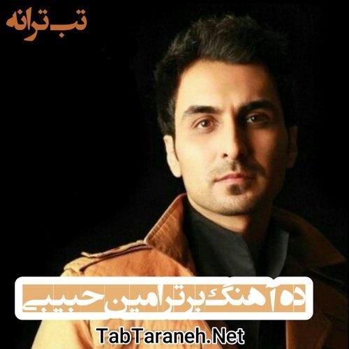 ده آهنگ برتر امین حبیبی
